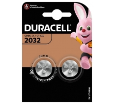 Duracell CR2032 3V Lithium Battery x 10