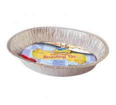 EXTRA LARGE OVAL FOIL ROASTING TRAY