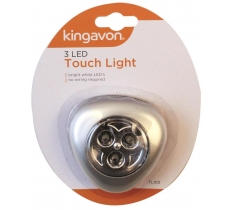 BLACKSPUR 3 LED TRIANGLE TOUCH LIGHT