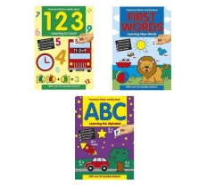Preschool Learning Sticker Books