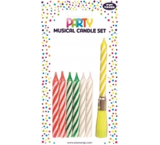 MULTI MUSICAL CANDLES