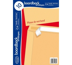 County Boardback Envelopes C4 10's 324 x 229mm