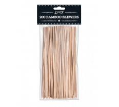 "10"" Bamboo Bbq Skewers (200 Pack)"