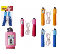 SKIPPING ROPE WITH COUNTER AND EVA HANDLES
