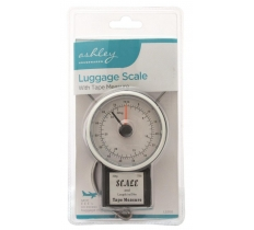 BLACKSPUR 34KG LUGGAGE SCALE WITH TAPE MEASURE