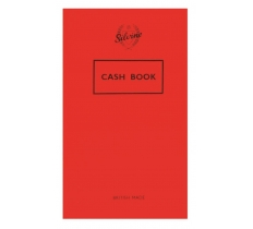 SILVINE CASH BOOK 72 PAGE 158MM X 99MM