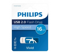 PHILIPS 16GB USB 2.0 FLASH DRIVE