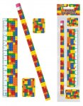 BRICKS STATIONERY 4PC SET