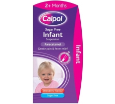 CALPOL 2 Month Plus INFANT SUGAR FREE X 6