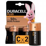 Duracell Plus C 2 Pack x 10