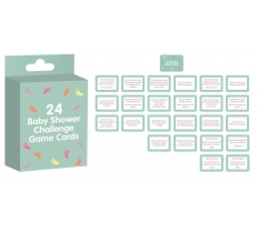 BABY SHOWER CHALLENGE CARDS