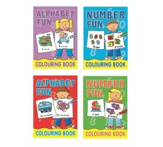 Early Learning Colouring Books