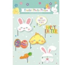 8PC EASTER PHOTO PROPS