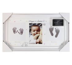 HAND & FOOTPRINT KIT PHOTO FRAME