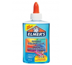 ELMER 147ML TRANS LIQUID GLUE BLUE