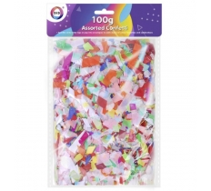 CONFETTI ASSORTED 100G