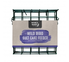 WILD BIRD GREEN SUET CAKE BIRD FEEDER