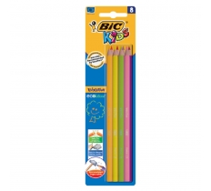 BIC COLOURING PENCILS EVOLUTION MULTI PACK OF 8