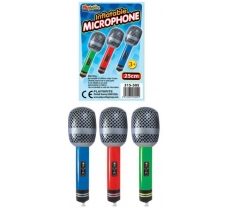 25CM INFLATABLE MICROPHONE