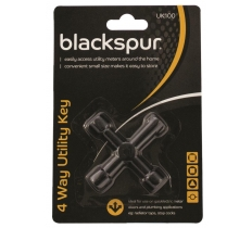 BLACKSPUR 4 WAY UTILITY KEY