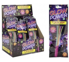Glow Wand with 6 Multi Colour Stick
