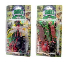 INSECT WORLD 21 PIECE SET