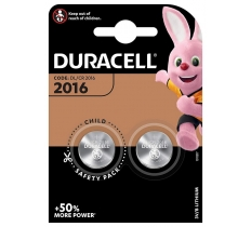 Duracell CR2016 3V Lithium Battery x 10
