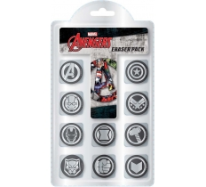 AVENGERS ICON ERASER PACK OF 10