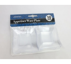 APPETISER PLATE WAVE MINI 10PK