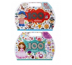 23x33cm DIE CUT ACTIVITY BOOK WITH HANDLE AND STICKERS