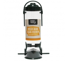 Green Standard Bird Seed Feeder