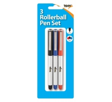 Tiger Rollerball set-3 pack-blister