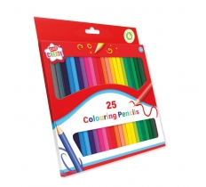 25 PACK COLOURING PENCILS