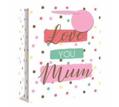 LOVE YOU MUM MEDIUM GIFT BAG