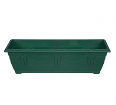 60cm Venetian Window Box - F/Green