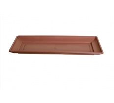 60cm Venetian Window Box Tray - T/Cotta