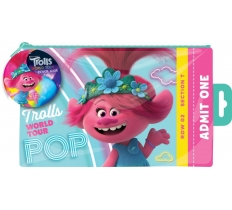TROLLS MOVIE FLAT PENCIL CASE