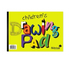 SILVINE A4 CHILDRENS DRAWING PAD