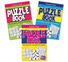 Childrens A5 Travel Puzzle Book