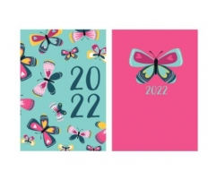 2020 A6 Diary WTV: Butterflies with foil