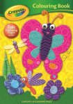 CRAYOLA COLOURING BOOK BUTTERFLY (ZERO VAT)