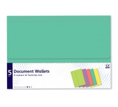 5 Document Wallets