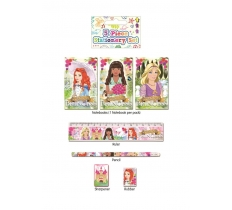 PRINCESS STATIONERY SET 5 PACK