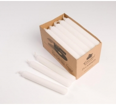 Candles Box 25 White