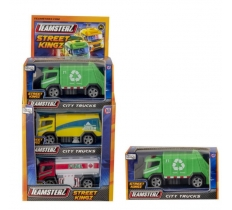 "4"" CITY TRUCKS IN WINDOW BOX"