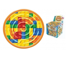 BRICKS MAZE PUZZLE 6CM X 108 ( 20p EACH )