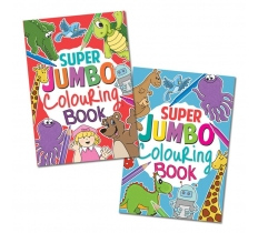 Super Jumbo Colouring Book