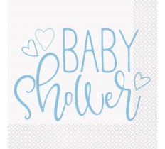 16 PACK BABY SHOWER LUNCH NAPKINS