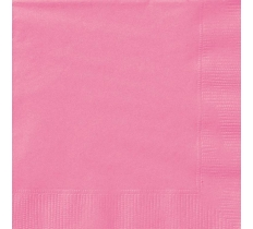 20 HOT PINK LUNCH NAPKINKINS