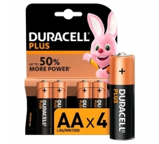 Duracell Plus AA 4 Pack x 20